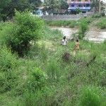 Children Playing in No Man's Land.