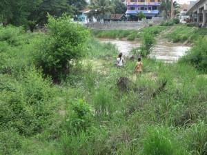Children Playing in No Man's Land.