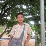 Boy Posing for Picture 1